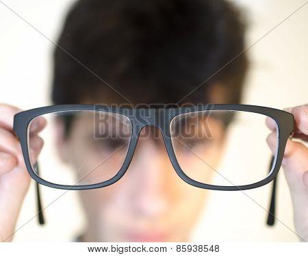 Eyeglasees Near Eyes
