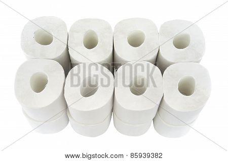 Toilet-paper Rolls.