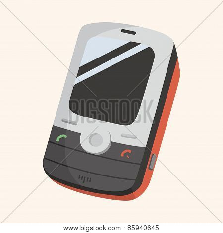 Cellphone Theme Elements Vector,eps
