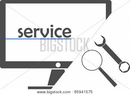 vector - service