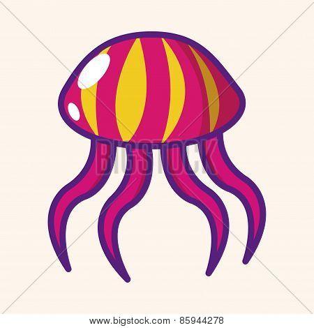 Jellyfish Theme Elements