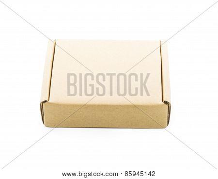 Cardboard Brown Box Isolate