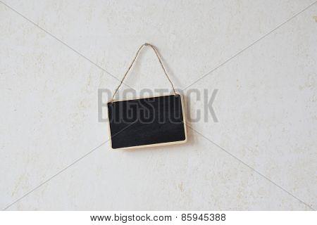 blank chalkboard sign