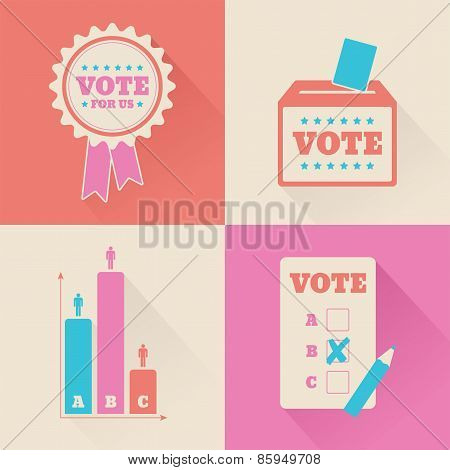 Election Voting Graphics