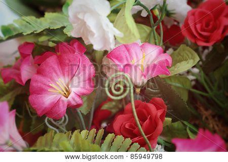 Beautiful Vintage Gerbera Of Artificial Flowers