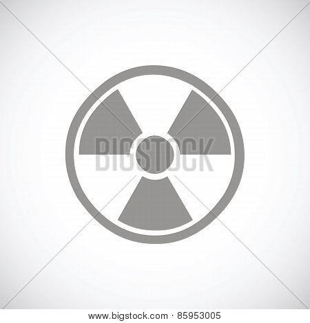Nuclear black icon