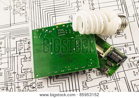 Fluorescent Lamp And Chip
