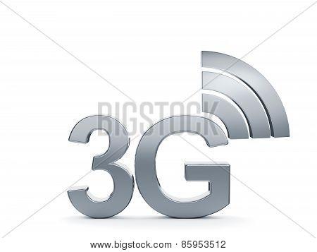 3G Cellular High Speed Data Connection Concept Logo