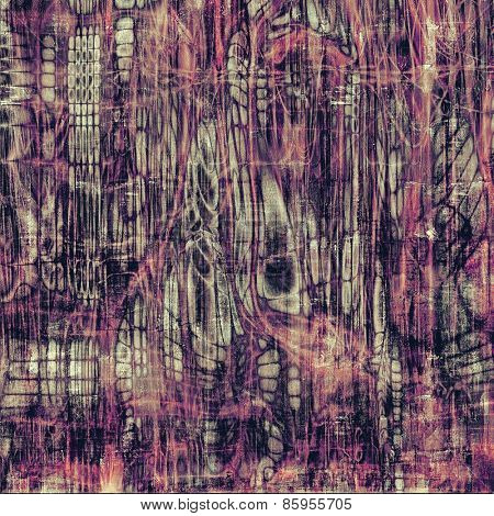 Old abstract grunge background for creative designed textures. With different color patterns: gray; purple (violet)