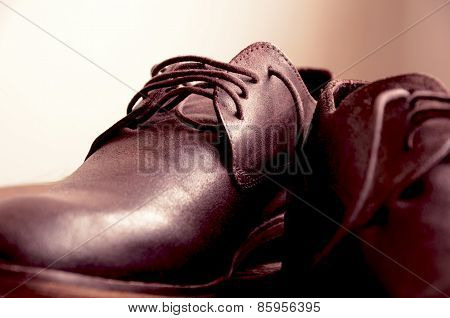Beautiful man shoes