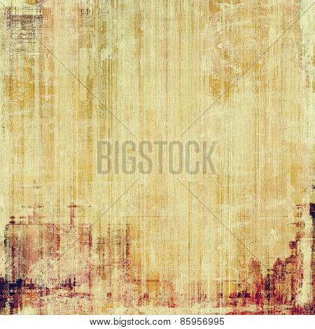 Old texture or antique background. With different color patterns: yellow (beige); brown; purple (violet)