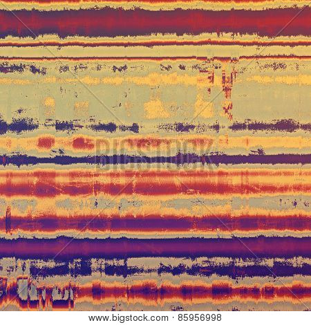 Grunge texture. With different color patterns: yellow (beige); brown; purple (violet); pink