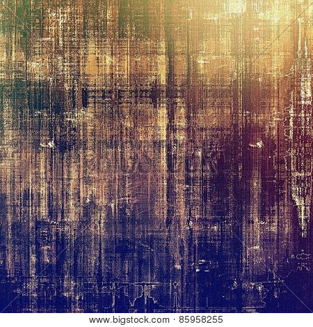 Beautiful vintage background. With different color patterns: yellow (beige); brown; blue; purple (violet)