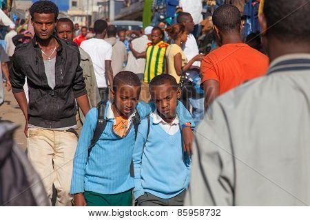 Ethiopian Students