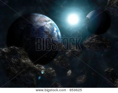 space szene