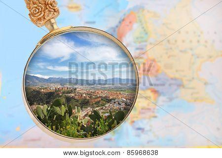 Looking In On Granada, Spain