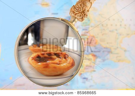 Looking In On Portuguese Custard Cakes