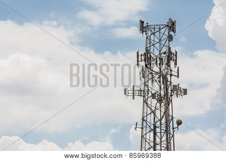 Single Cell Phone Tower