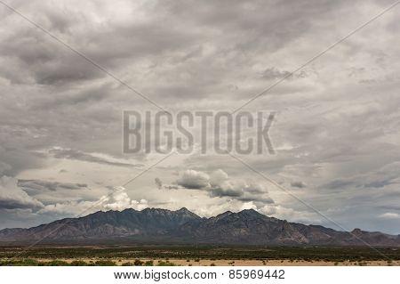 Mountain View In Monsoon Season
