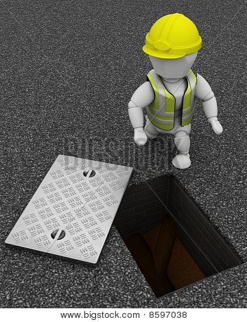 Generador de inspección de drenajes
