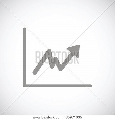 Graph black icon