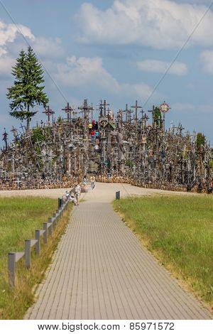 The Hill Of Crosses Near Siauliai