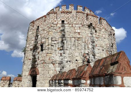 Details Of Tower Of Yedikule Fortress