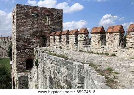 Faragment Of Wall Of Yedikule Fortress