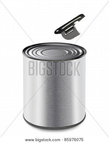 Can And Simple Can Opener