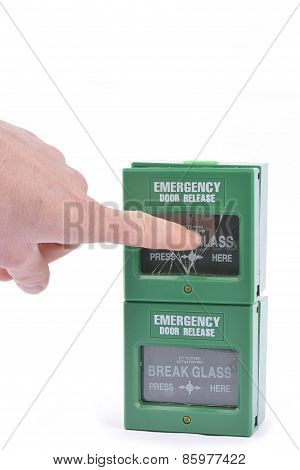 Fire Alarm Security Panel