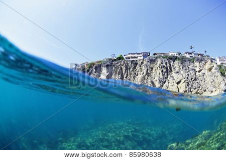Laguna Beach from below the Surface