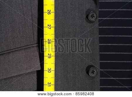 Suit And Tape Measure