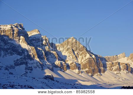 Sunrise in Partacua Mountains, Tena Valley, Pyrenees, Huesca, Aragon, Spain