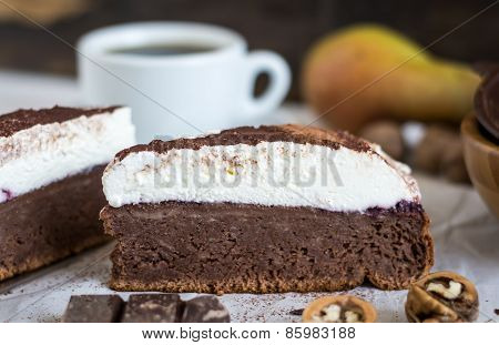 Chocolate Cake With Cream