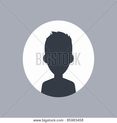 unknown male silhouette