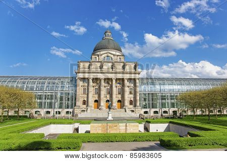 Bavarian State Chancellery In Munich