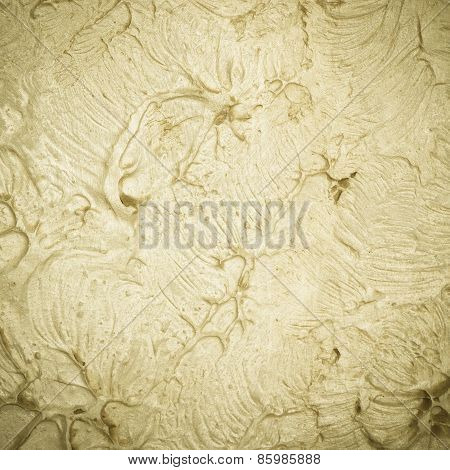 Design. Closeup Of Wall As Background Or Texture