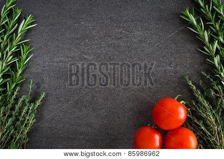 Tomatoes Herbs