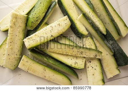 Seasoned Zucchini