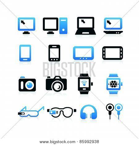 Electronic Product Icon Set