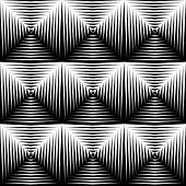 pic of quadrangles  - Design seamless diamond trellised pattern - JPG