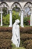picture of garden sculpture  - The sculpture in Cloisters gardens on Paradise Island  - JPG
