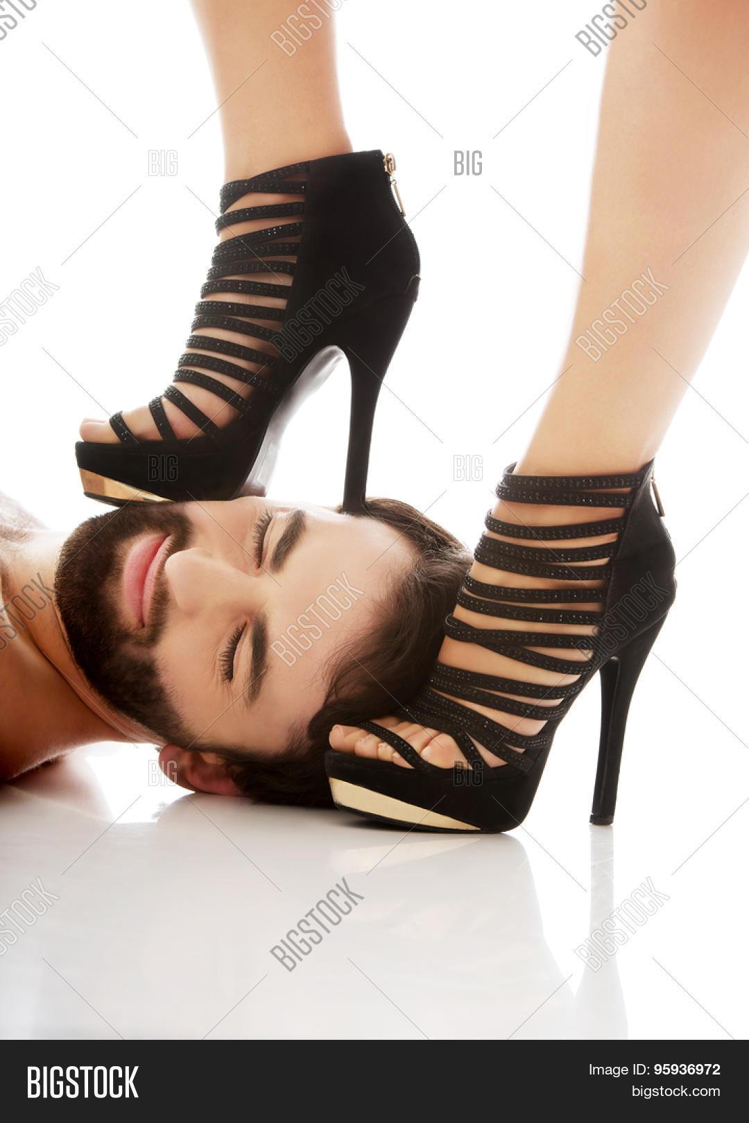 high heel for men bondage