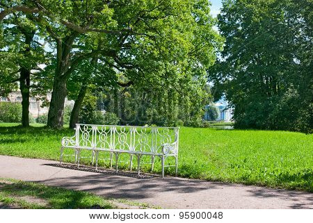 Tsarskoye Selo (Pushkin). Saint-Petersburg, Russia. The Catherine Park