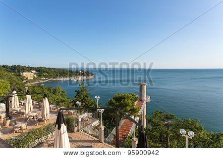 Trieste coast