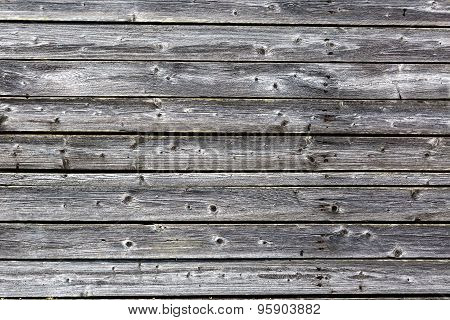 Old Gray Wood Planks With Texture