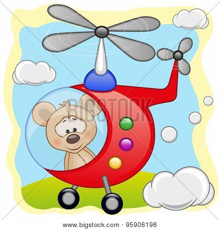 Mouse In Helicopter