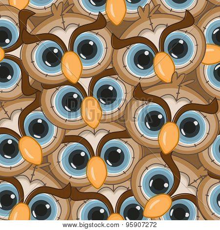 Owl Seamless