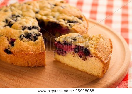 Pie With Berries.