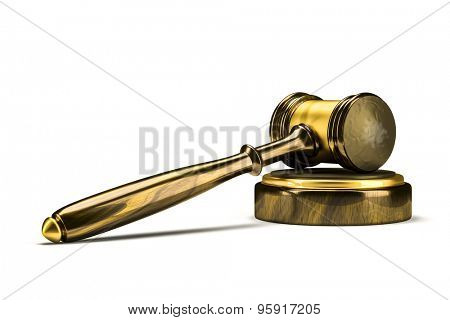 An image of a wooden judge gavel